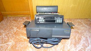 Radio casete Alpine + Cargador CD
