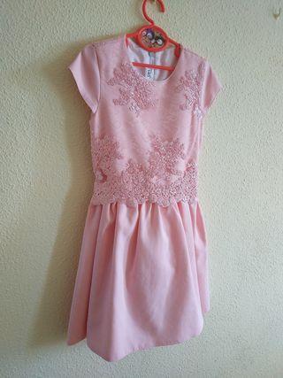vestido elegante niña
