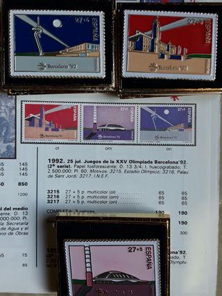 Pins / sellos Olimpiadas 92 2° serie