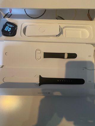 Apple Watch serie 5 40 mm negro mujer