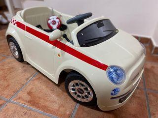 Coche infantil batería Fiat 500
