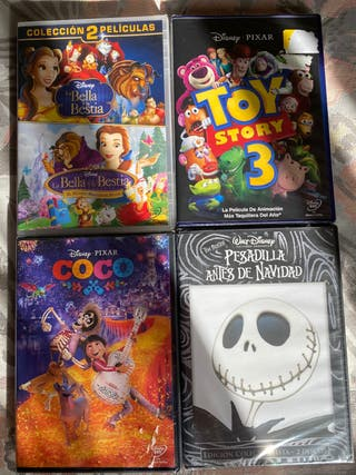 PACK DISNEY: 5 DVD !NUEVO!