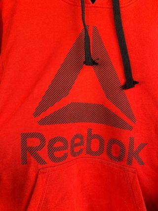 Sudadera Reebok roja talla S