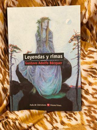 LEYENDAS Y RIMAS DE GUSTAVO ADOLGO BÉQUER .