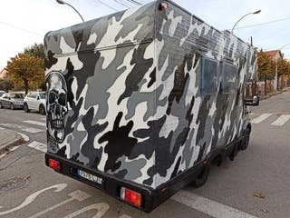 Graffiti autocaravanas