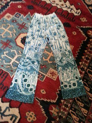 1960 1970 slight flare trouser original