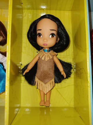 Princesa pocahontas mini animators disney
