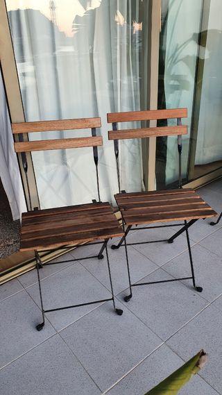 2 Sillas exterior Tärnö Ikea