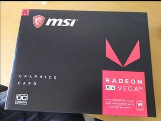 2 Tarjetas gráficas Radeon RX Vega 56