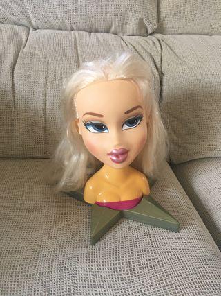 Cabeza de muñeca para peinados