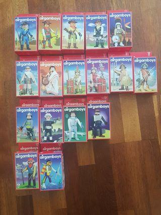 17 figuras de airgamboys