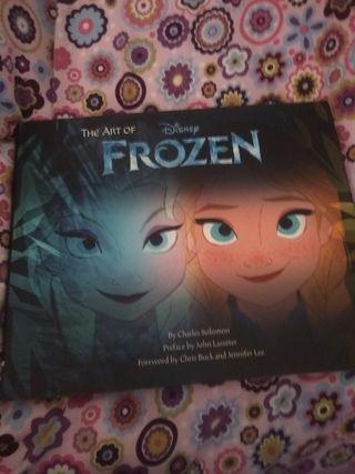 Libro de arte Frozen Inglés