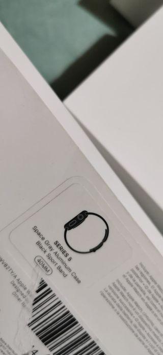 apple watch serie 5 40mm gps nuevo