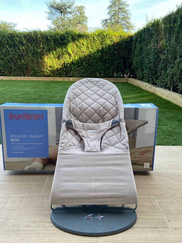 Hamaca BabyBjorn Bliss IMPECABLE.