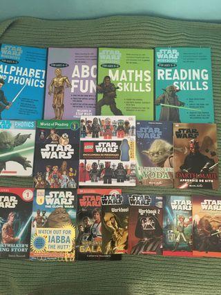 30 libros Star Wars Inglès