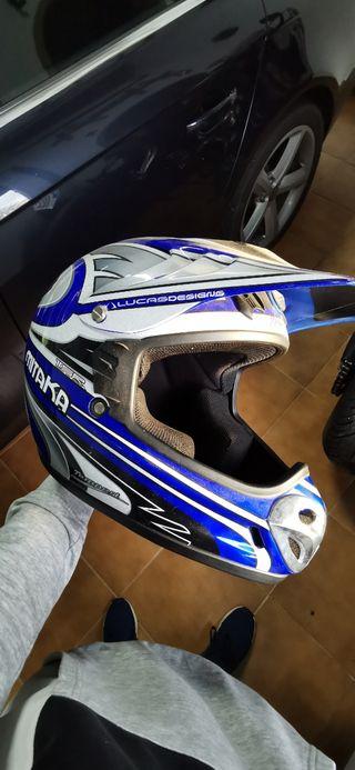 casco de moto mitaka
