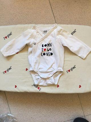 Body born to be, bebé, talla 50, 0-1 mes