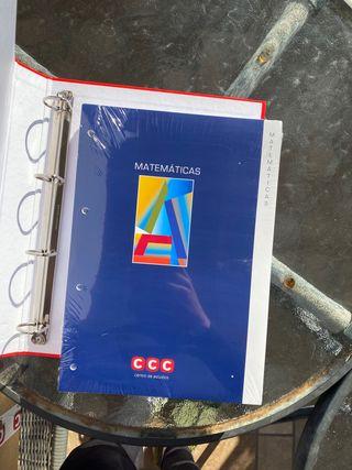 Libro MATEMÁTICAS acceso universidad