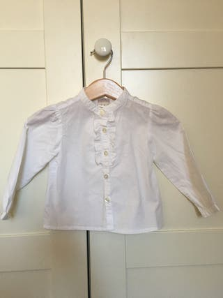 Camisa algodón bebé, lefties, talla 74, 6-9 meses