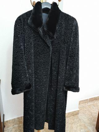 Abrigo piel de astracán