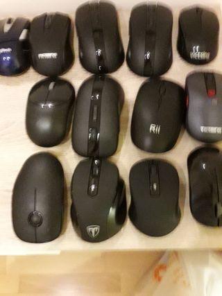 ratones inalámbricos un ratón 6 € dos 10 €