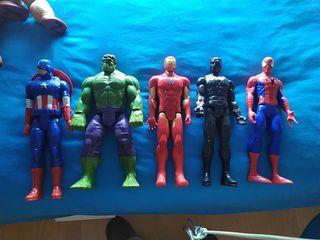 lote super héroes