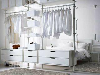 Vestidor armario modular Stolmen Ikea