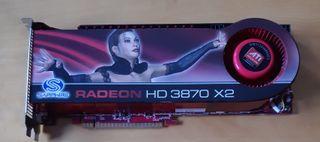 Tarjeta grafica RADEON HD 3870 X2 1Gb DDR3 PCI-E