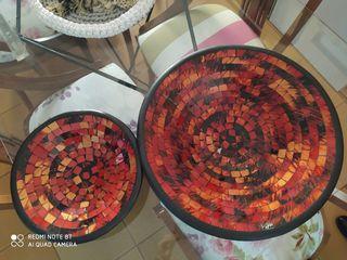 centros de mesa cristal ceramico