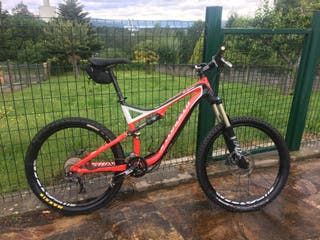 Specialized Stumpjumper FSR 2012 Al. Talla L Doble