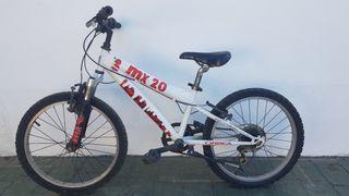 bicicleta niño orbea mx 20