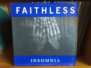Disco vinilo Faithless - Insomnia .