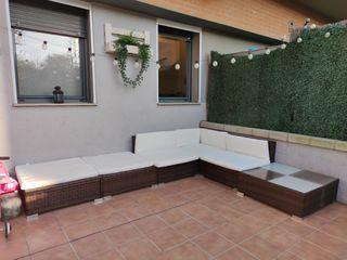 Conjunto Sofa Terraza Jardin