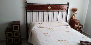 dormitorio de madera maciza de roble