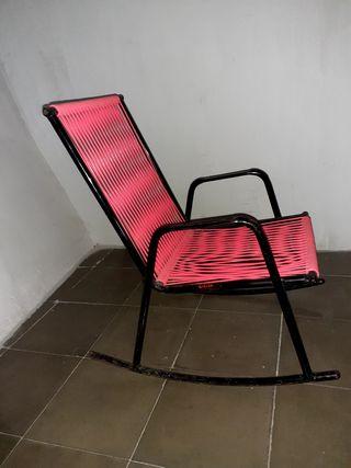 silla mecedora para niña