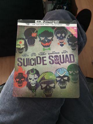 SCUADRON SUICIDA STEELBOOK 4K