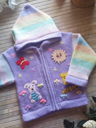 chaqueta lana Talla 18 meses invierno