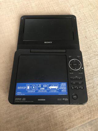 Reproductor con pantalla