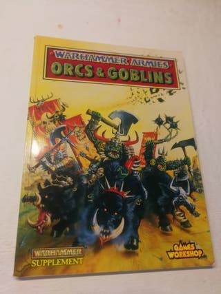Warhammer Orcos y Goblins 4 edición INGLÉS