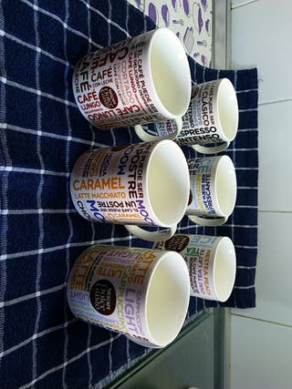 tazas de Nescafé
