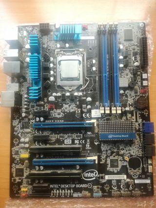 Placa base LGA 1155 Intel DP67BG +CPU i7 2600K