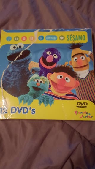 Pack Juega conmigo Sésamo 12 dvd