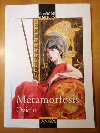 Libro Metamorfosis, Ovidio - ANAYA