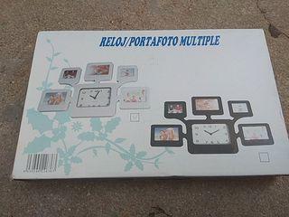 Reloj Portafotos Multiple