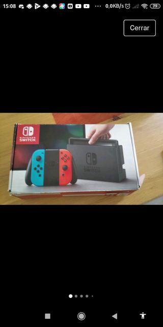 Nintendo switch roja y azul NEGOCIABLE