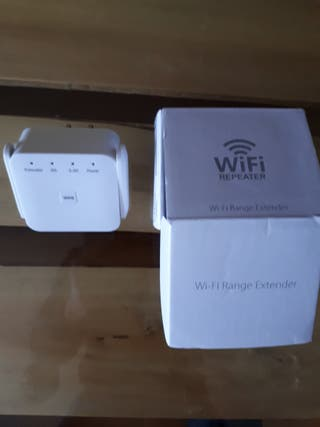 repetidor wifi con dos líneas 2.4 y 5g