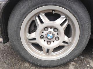 llantas 5x120 15 con neumáticos