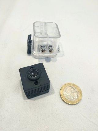 Micro cámar de acción SQ12 HD 1080P. Impermeable