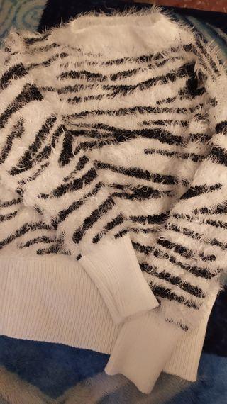 Jersey de invierno Blanco y Negro