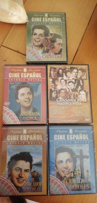 películas de DVD Antonio Molina
